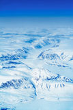 Glaciers of Greenland. Aerial view. Spring time - middle of May Stock Photos