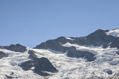 Glaciers in the Hohe Tauern Royalty Free Stock Photos