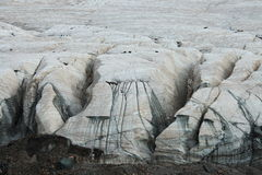 Glaciers on Holy snow mountain Anymachen on Tibetan Plateau, the headstream of Yellow River, Qinghai, China Stock Photos