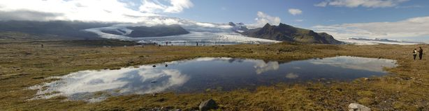 Glaciers and icebergs, Iceland Royalty Free Stock Photo