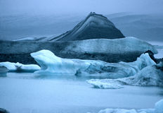 Glaciers, Iceland Stock Photography