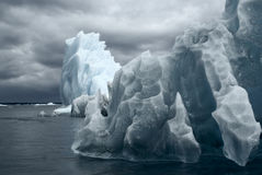 Glaciers in Laguna San Rafael Royalty Free Stock Image