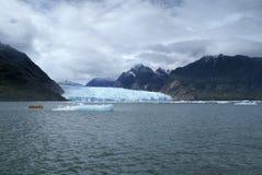 Glaciers in Laguna San Rafael Royalty Free Stock Photo