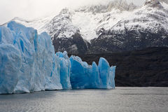 Glaciers and Mountains Royalty Free Stock Images