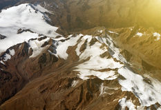 Glaciers. Royalty Free Stock Images