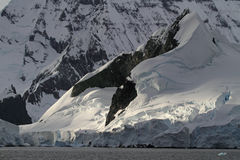 Glaciers and mountains of Antarctica Stock Image
