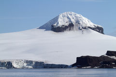 Glaciers and mountains of Antarctica Stock Photos