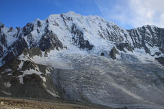 Glaciers and Mountains Stock Photography