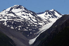 Glaciers Near Valdez Royalty Free Stock Photos
