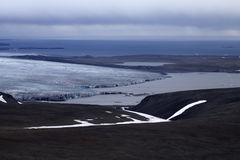 Glaciers of the Northern island Novaya Zemlya 1 Royalty Free Stock Photography