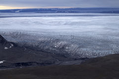 Glaciers of the Northern island Novaya Zemlya 2 Stock Photography