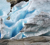 Glaciers Norway Stock Photography