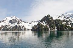 Glaciers and ocean Royalty Free Stock Photos