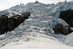 Glaciers plateau Stock Photos