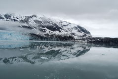 Glaciers Reflect Royalty Free Stock Photography