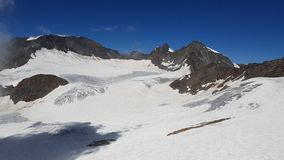 Glaciers in South Tyrol Stock Photography