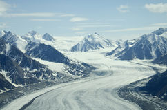 Glaciers at St Elias Range Royalty Free Stock Image