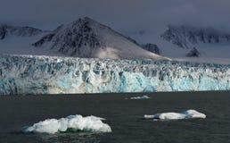 Glaciers of Svalbard / Spitsbergen stock images