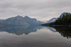 Glaciärnationalpark, Gå-till--sol-väg, Montana, USA Arkivbilder