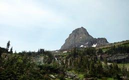 Glaciärnationalpark i Montana, USA Arkivfoton
