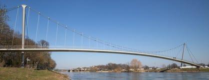 Glacis bridge minden germany Stock Photos