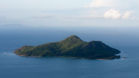 Glacis Trois Freres Nature Trail View in Seychelles Stock Photography