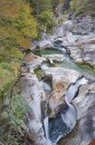 Glacjalnej ery halny strumień Zdjęcie Stock