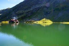 Glacjalny jezioro Balea Fotografia Stock