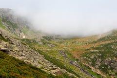 Glacjalny jezioro na wierzchołku Kackar góry Obraz Royalty Free