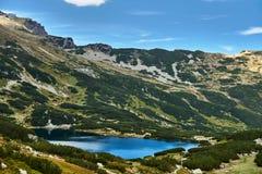 Glacjalny jezioro w Tatrzańskich górach Fotografia Royalty Free
