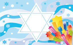 Glad background to the Jewish holiday Stock Photo