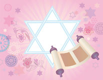 Glad background to the Jewish holiday Royalty Free Stock Photos