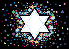 Glad background to the Jewish holiday Stock Photo