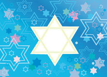 Glad background to the Jewish holiday Stock Photos
