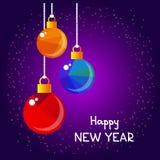 Glad christmas-03 royaltyfri illustrationer
