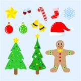 Glad christmas2 royaltyfri bild