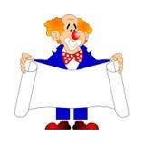 glad clown Royaltyfri Bild