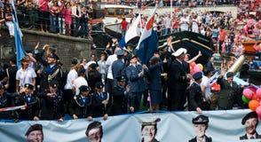 glad departementstolthet 2011 för försvar Royaltyfri Fotografi