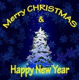 Glad jul 02 Fotografering för Bildbyråer