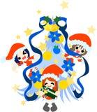 Glad jul! Arkivfoton