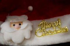 Glad jul för brosur och baner Arkivbild