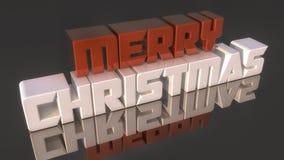 glad jul för text 3d stock illustrationer