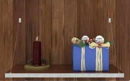 Glad jul - lyckligt nytt år Royaltyfri Bild