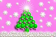 Glad jul, nytt år, vinter Arkivbilder