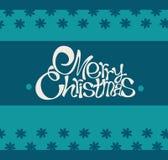Glad jul och kort för lyckligt nytt år Arkivfoto