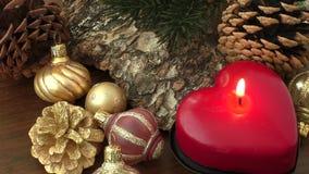 Glad jul och lyckligt nytt år arkivfilmer
