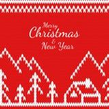 Glad jul och nya år Royaltyfri Fotografi