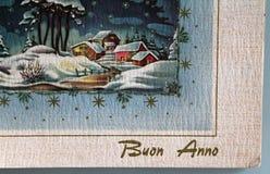 Glad jul & säsongs hälsningar Arkivbilder