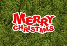 glad jul Sörja filialer letters amerikansk för färgexplosionen för kortet 3d ferie för hälsningen för flaggan nationalformspheren Arkivbild