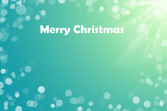 Glad jul smsar för kortet för din design på aquabakgrund Arkivfoton